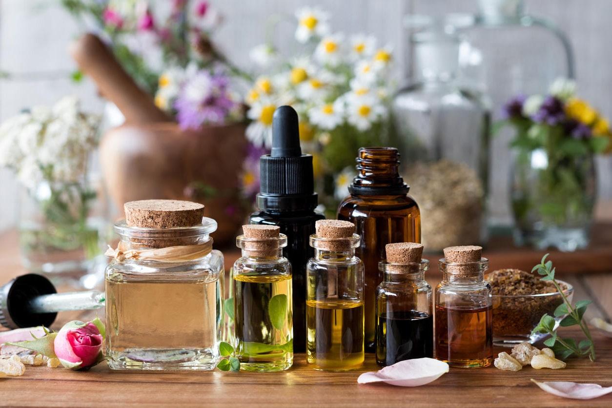 fioles huiles essentielles